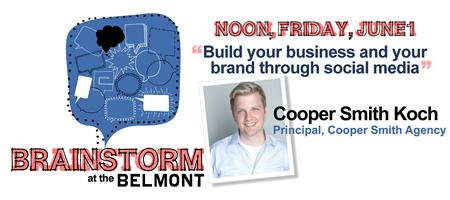 Brainstorm at the Belmont  with Cooper Smith Koch