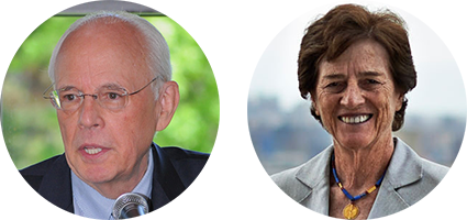John Dean and Liz Holtzman