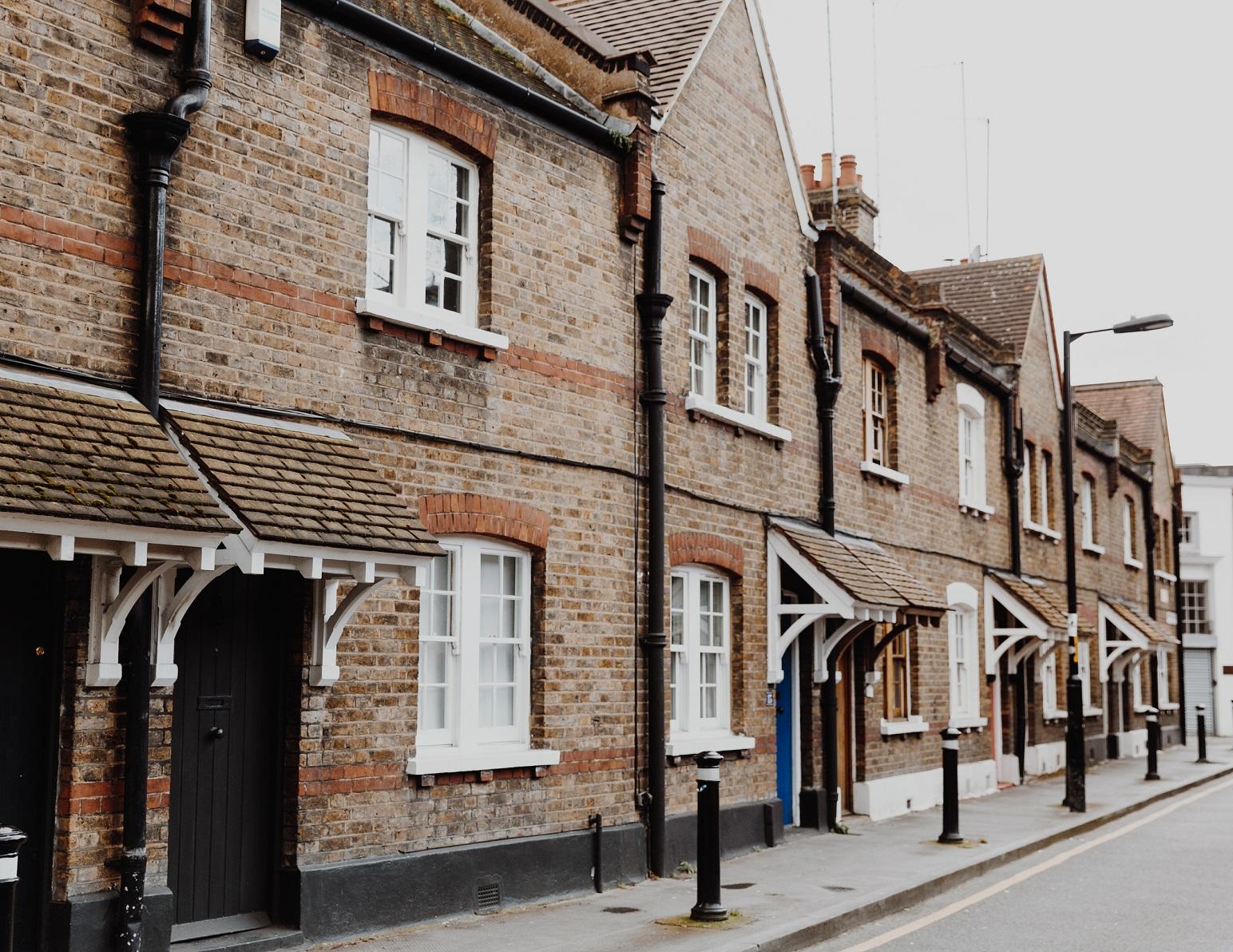 Orange Street's cottages in Borough