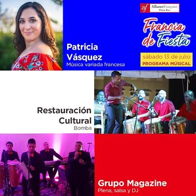 Francia de Fiesta 2019 - Programa Músical