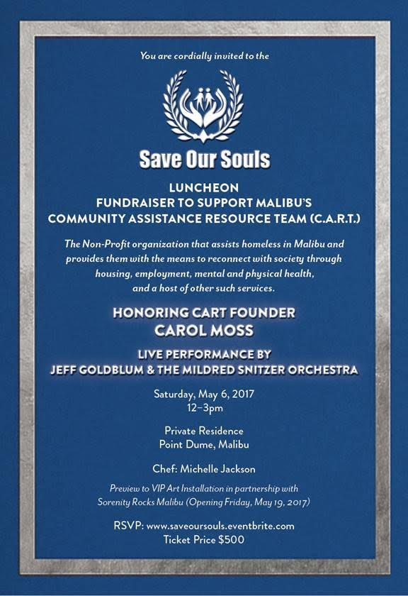 Save Our Souls Luncheon Invitation