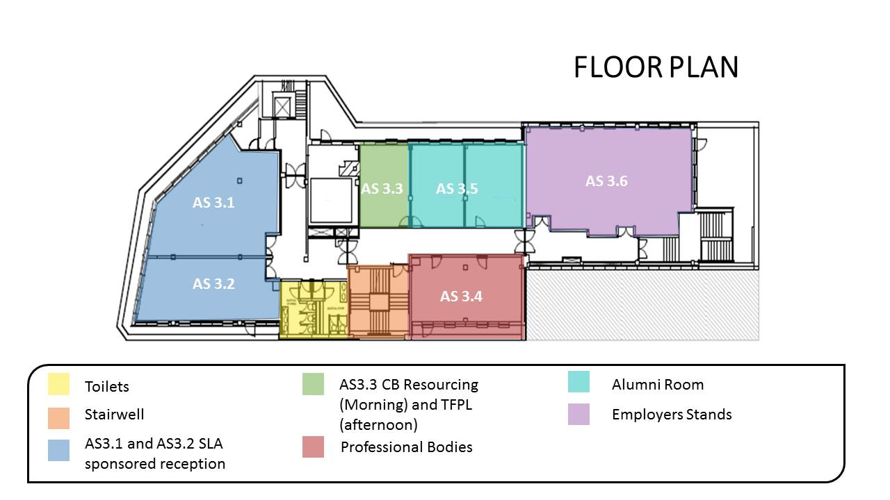 careers expo floor plan