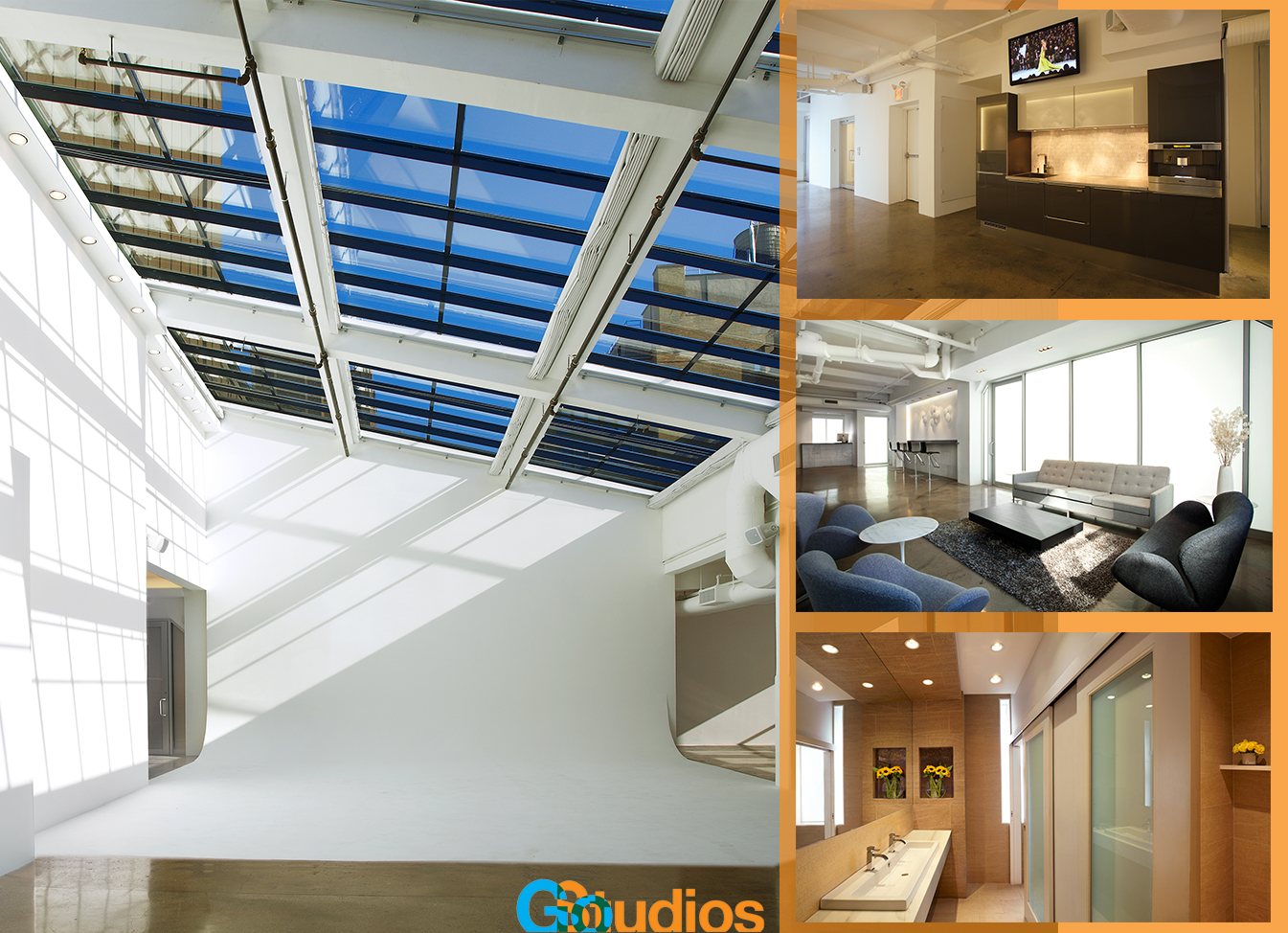 Go Studios Penthouse interior