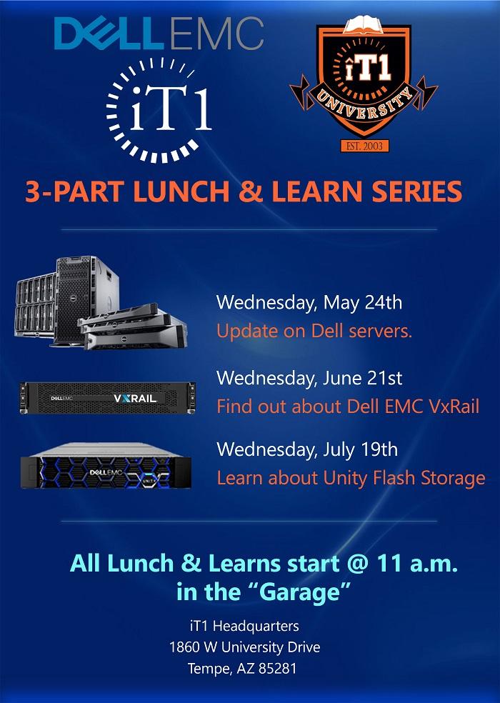 iT1 Dell EMC Lunch & Learn Series