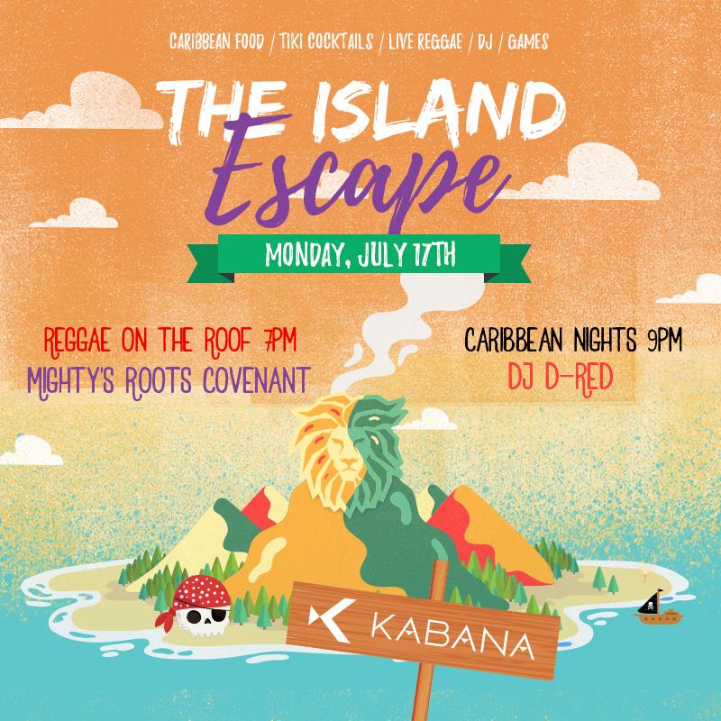 Mighty Joshua at The Island Escape