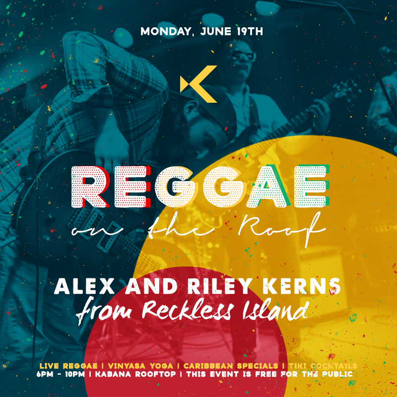 Reggae on the Rooftop with Reckless Island