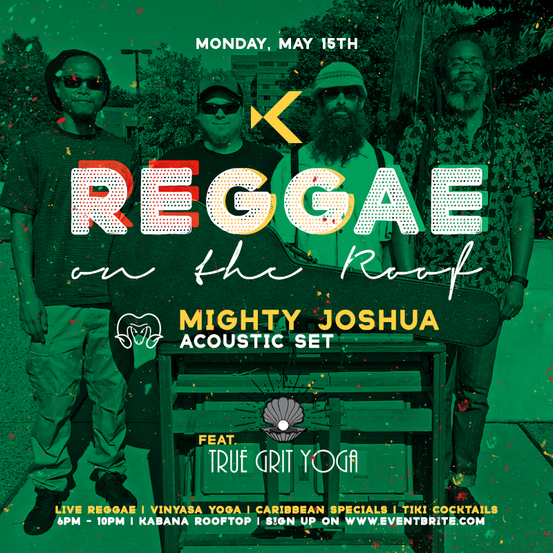 Mighty Joshua at Reggae on the Roof