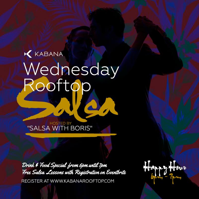 Salsa on the Rooftop at Kabana