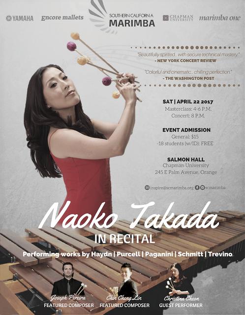 Naoko Takada in Recital, SCM