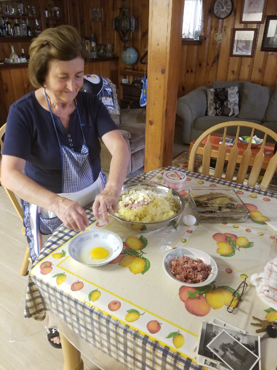 Cooking with Granny Italian cooking