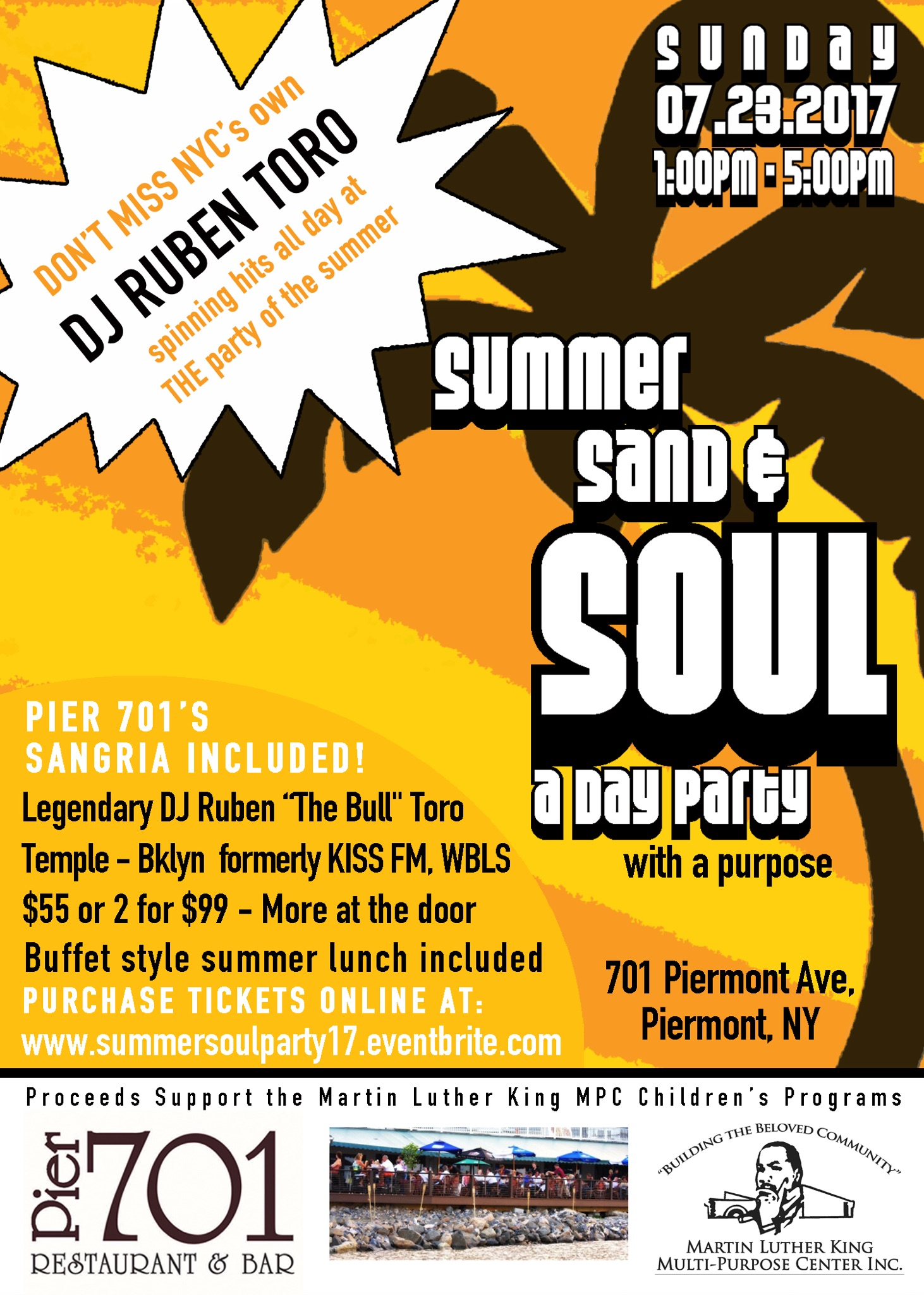 summer, sand & soul 2017: a party with a purpose! tickets, sun