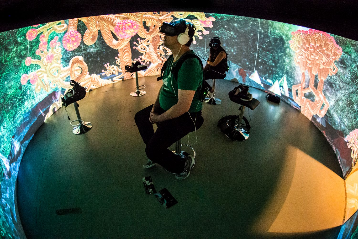 FIVARS in the Igloo Vision Theater featuring Subpac and Gear 360