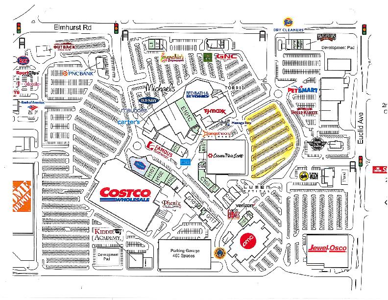 Randhurst Village map