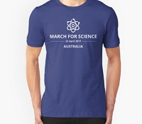 T Shirt March for Science Melbourne