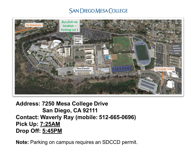 San Diego Mesa College Details