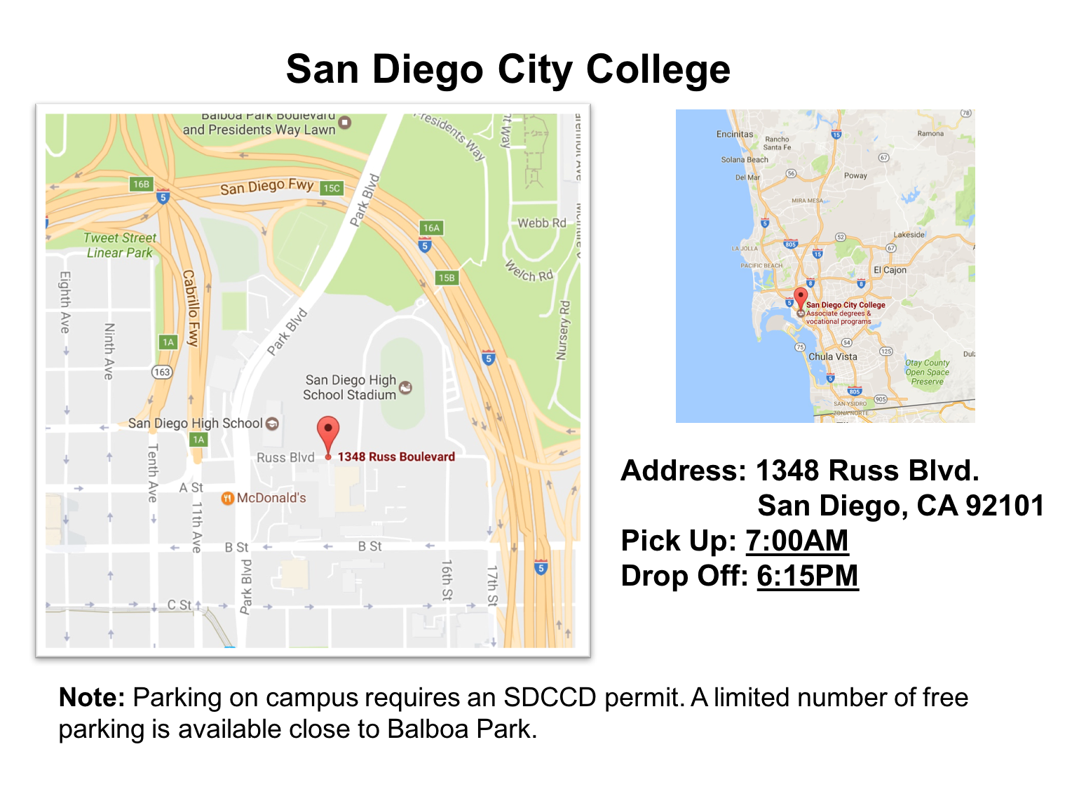 San Diego City College Details