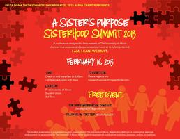 A Sister's Purpose Sisterhood Summit 2013