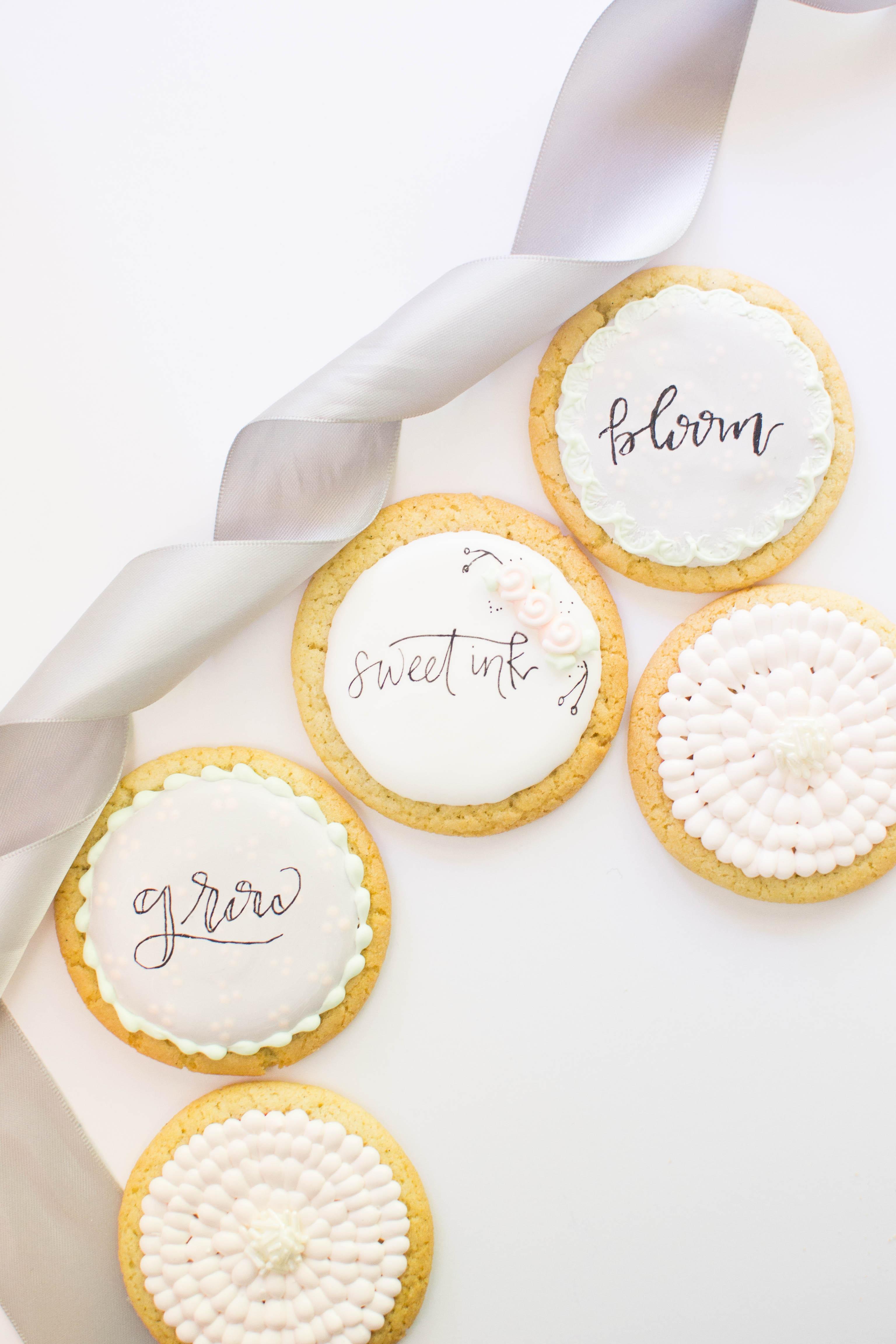 Sweet Ink Cookies