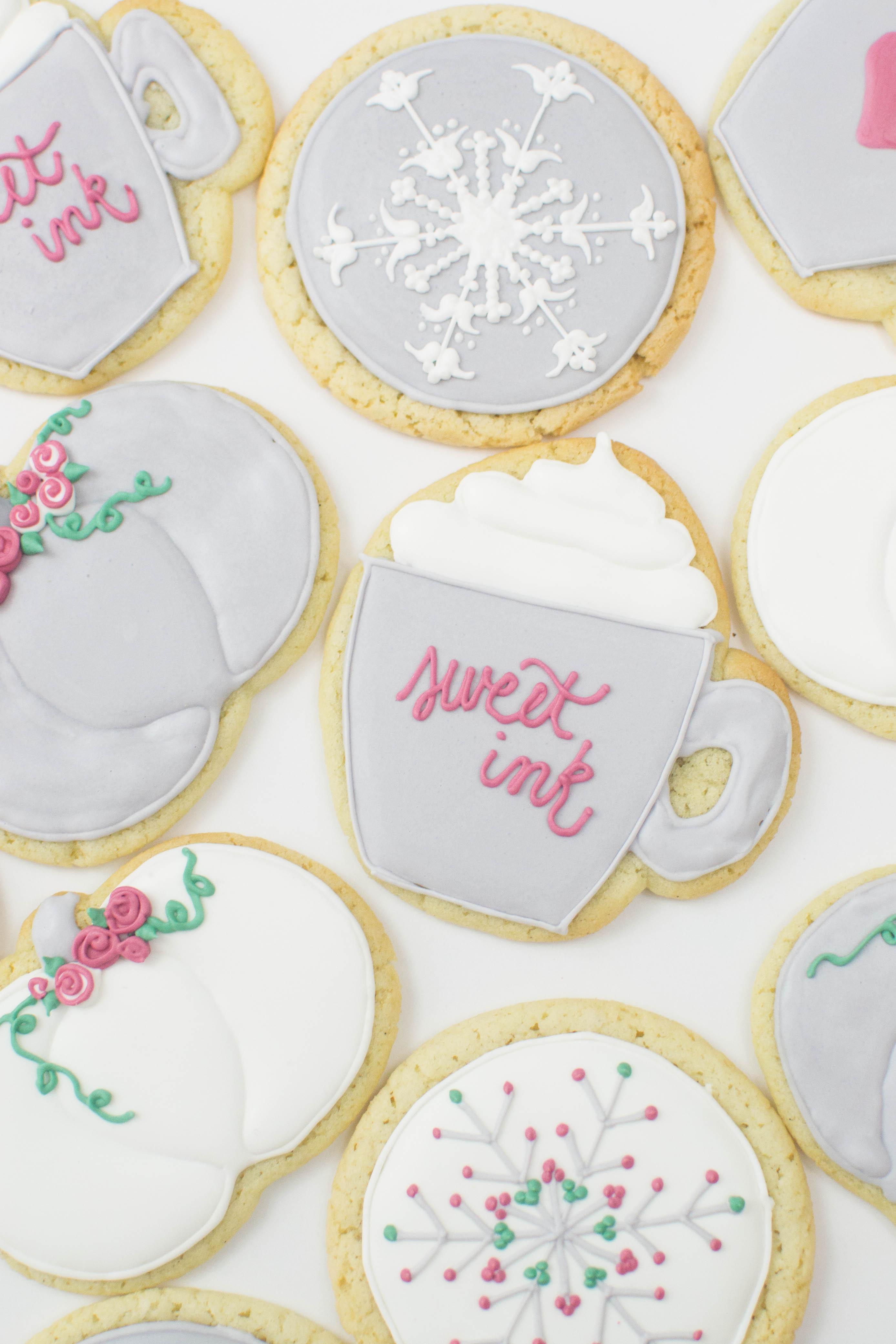 Sweet Ink Workshop Cookies Fall 2017