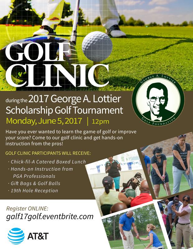 2017 George A. Lottier Scholarship Golf Clinic