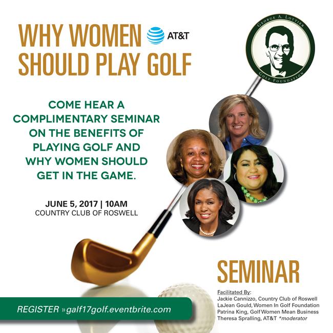 2017 George A. Lottier Scholarship Golf Seminar