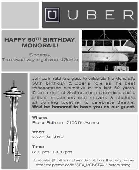 HAPPY BIRTHDAY MONORAIL!