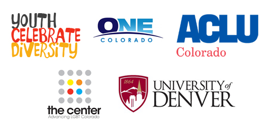 YCD, One Colorado, ACLU of Colorado, The Center and the University of Denver