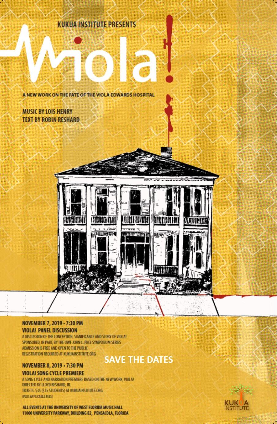 Viola! Song Cycle Premiere