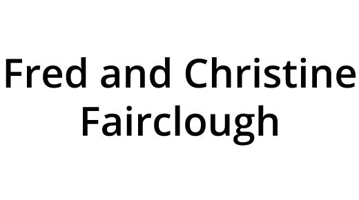 Fred and Christine Fairclough