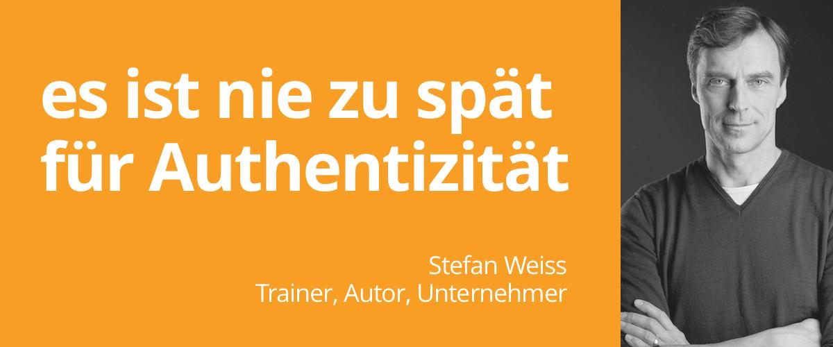 TAR Trainer Stefan Weiss für Seminar