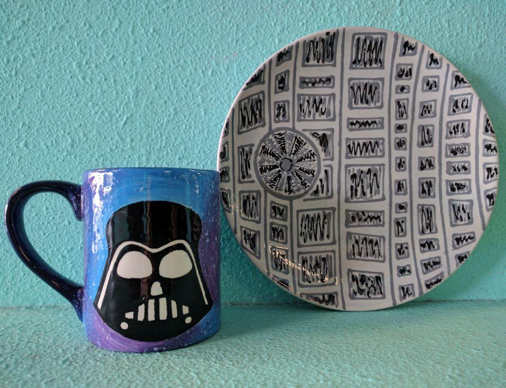 Darth Vader + Death Star