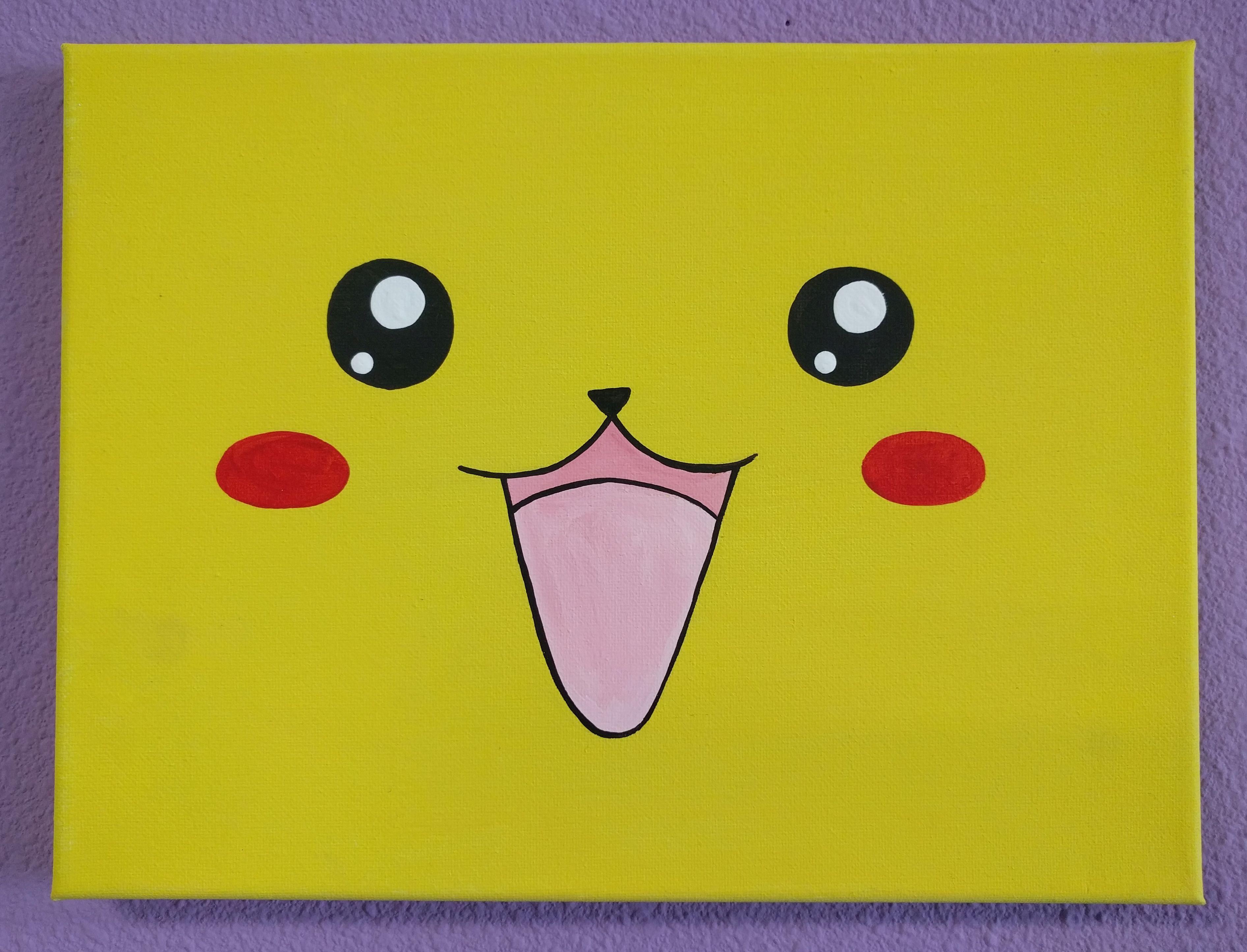 Pikachu Canvas