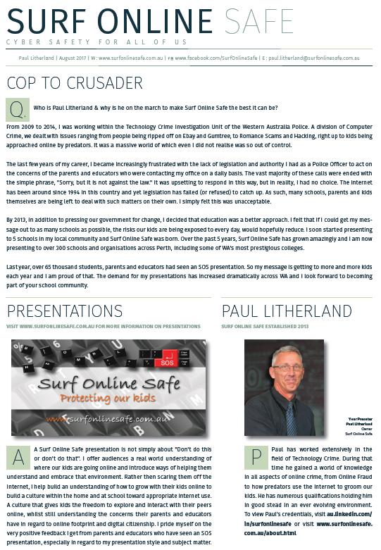 Surf Online Safe poster