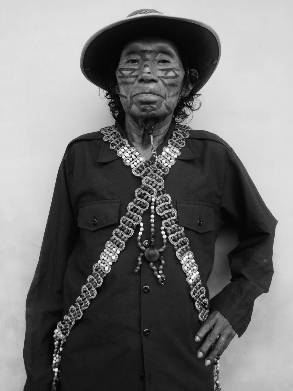 Black and White Photo of Ramon The Shaman
