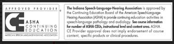 ASHA CEU logo and information