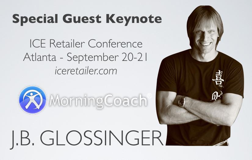 JB Glossinger Keynote at ICE Retailer 2013