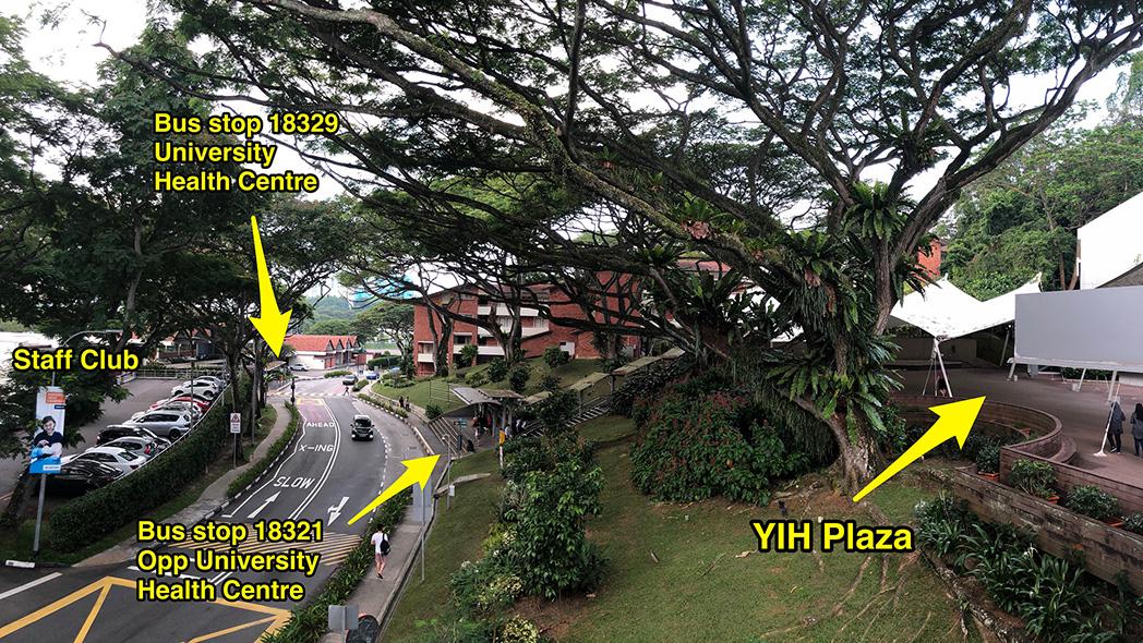YIH Plaza bus stops