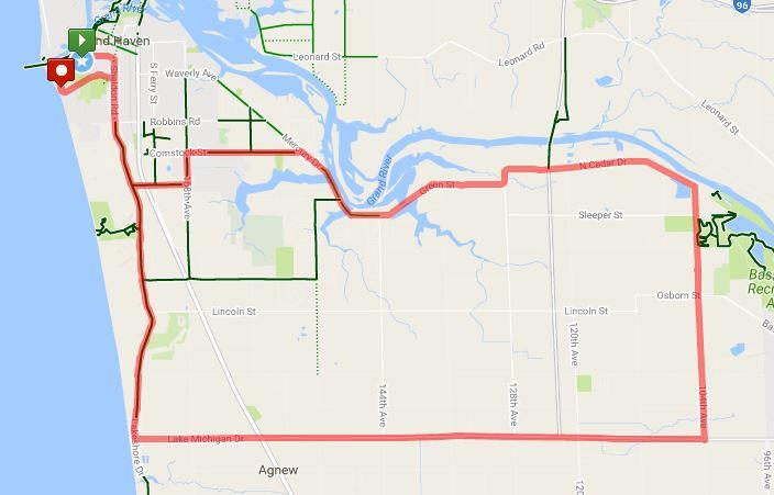 33 Mile Ride