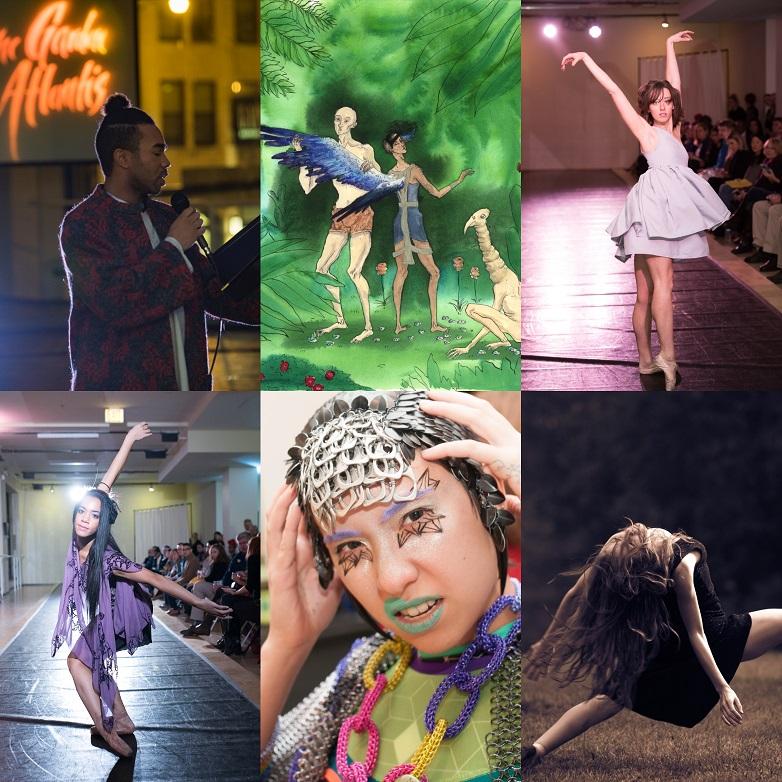 In the Garden of Atlantis Elements Ballet
