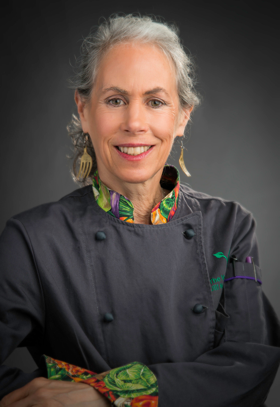 Jill Nussinow Chef coat
