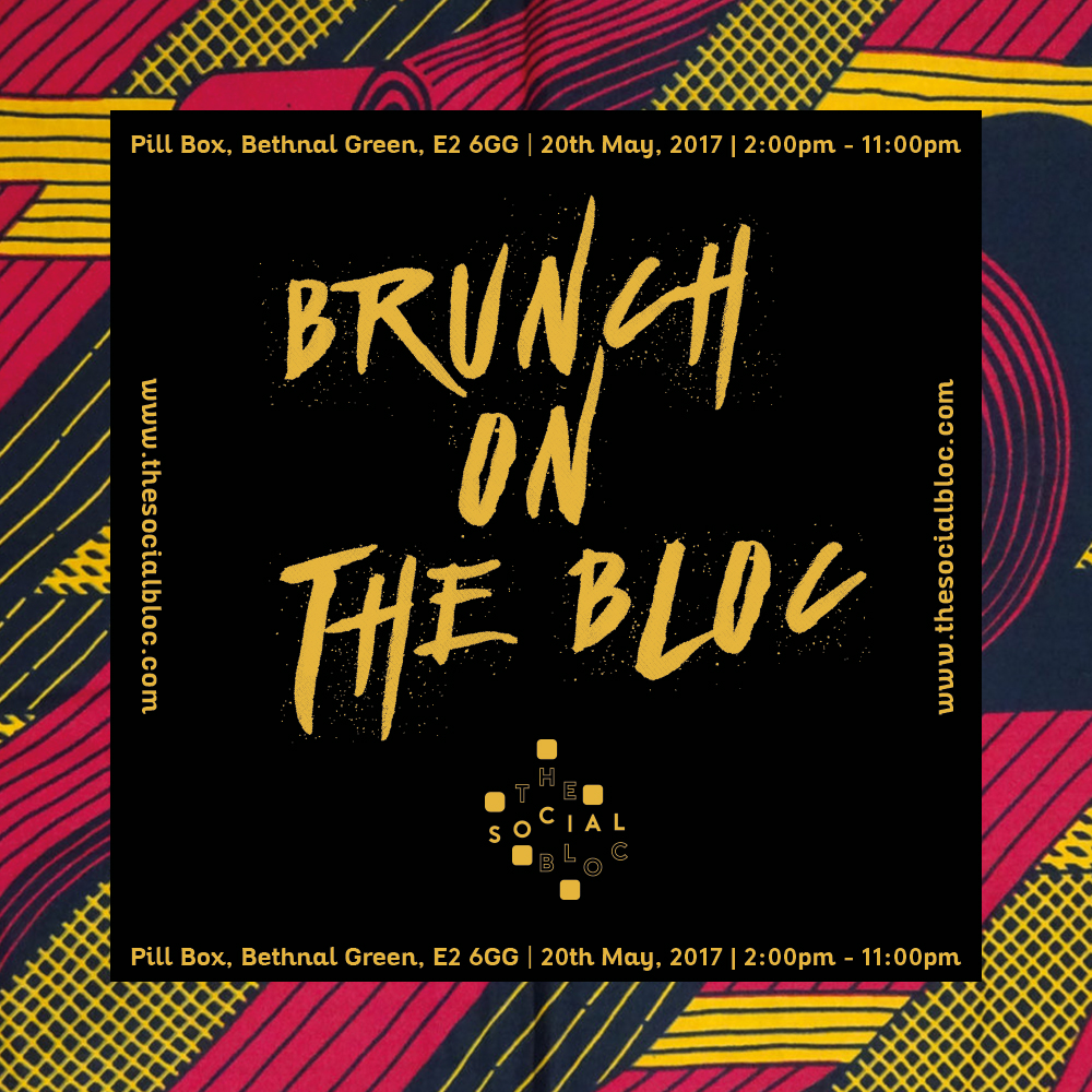 Brunch On The Bloc Flyer