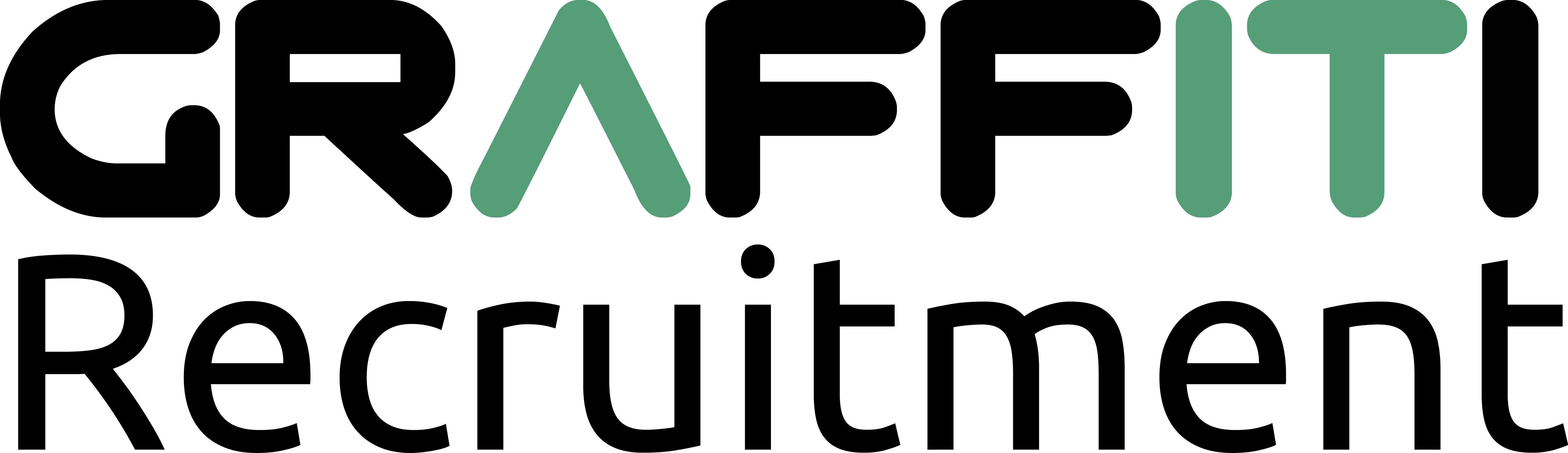 logo for Graffiti Recruitment