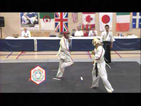 Koshiki Karate in action