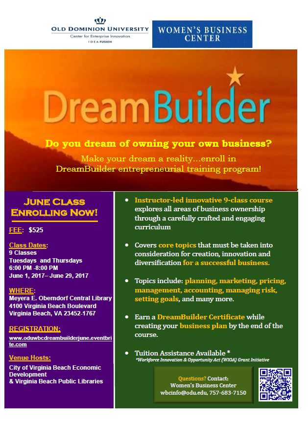 DreamBuilder June 2017