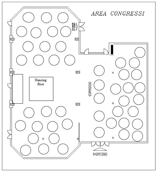Basic Floor Plan Of Event