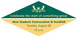 New Student Convocation and Festifall Picnic - Family RSVP
