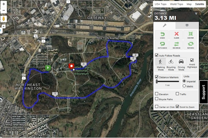 Oaktoberfest K Fun Run Hosted By Friends Of The National - Us national arboretum map