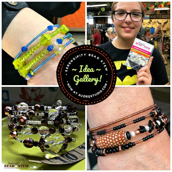 Serendipity BEAD STEW bracelet design ideas