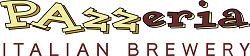 Pazzeria Italian Brewery Logo