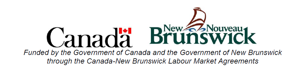 Government of Canada and Government of New Brunswick logos